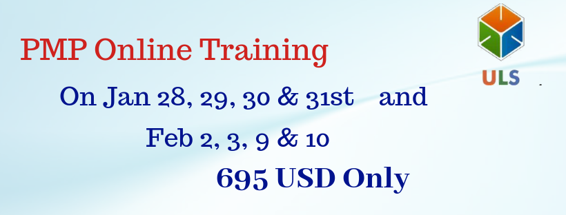 PMP (PMBOK6th Edition) Online Exam Prep Training – Only USD695 – Ulearn Systems