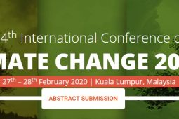 The 4th International Conference on Climate Change 2020 – (ICCC 2020)