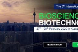 The 5th International Conference on Bioscience and Biotechnology 2020 – (Bio Tech 2020)