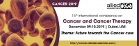 14th international conference on cancer and cancer therapy
