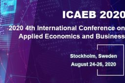 2020 4th International Conference on Applied Economics and Business (ICAEB 2020)