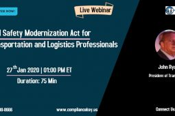 Food Safety Modernization Act for Transportation and Logistics Professionals