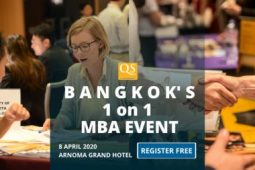 QS Bangkok MBA Event Free Entry – 1 on 1 MBA Meeting and Networking