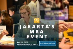 QS Jakarta Connect MBA Fair and Networking Event: Free Entry
