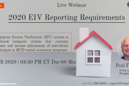 2020 EIV Reporting Requirements