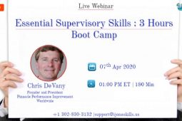 Essential Supervisory Skills : 3 Hours Boot Camp