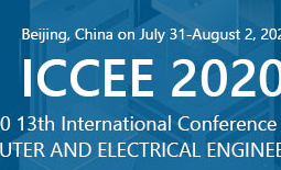 2020 13th International Conference on Computer and Electrical Engineering (ICCEE 2020)