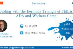 Dealing with the Bermuda Triangle of FMLA, ADA and Workers Comp