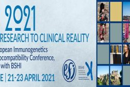 EFI 2021: The 34th European Immunogentics and Histocompatibility Conference together with BSHI