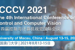 2021 The 4th International Conference on Control and Computer Vision (ICCCV 2021)