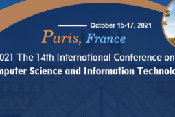 2021 The 14th International Conference on Computer Science and Information Technology (ICCSIT 2021)